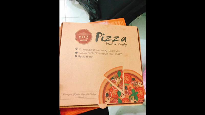 Quán này chủ yếu ngon ở pizza