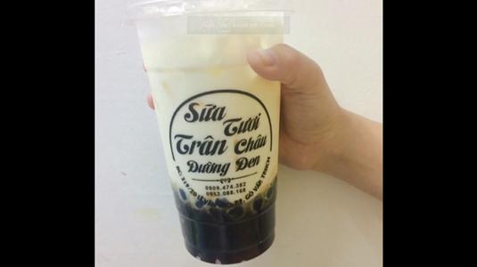 Sữa tươi trân châu đường đen ngon nhất Gò Vấp