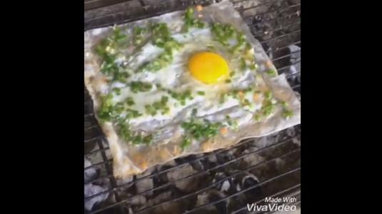 Dì Nguyệt - Bánh Tráng Nướng