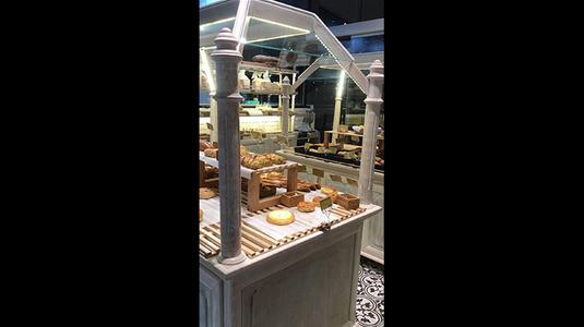 Tiệm bánh xinh đẹp.