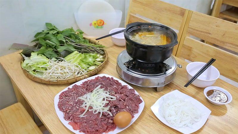 4 loại bò nhúng dấm siêu ngon, 0.5kg chỉ 200k