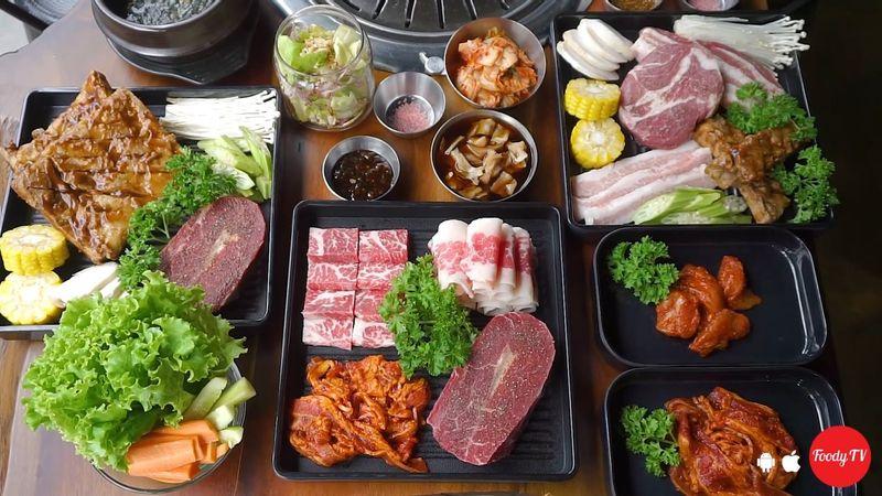 Nhà hàng thịt nướng GIẢM GIÁ ĐẾN 40% cho MENU COMBO