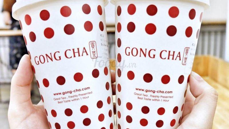 """[""""LY MỚI GONGCHA"""" chính thức về dinh cùng team trà nóng]"""