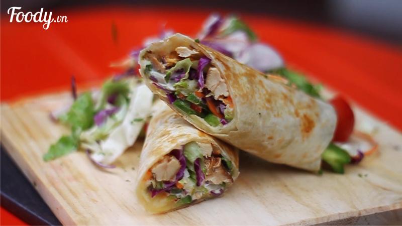 Bánh Wrap Taco độc lạ hiếm có khó tìm