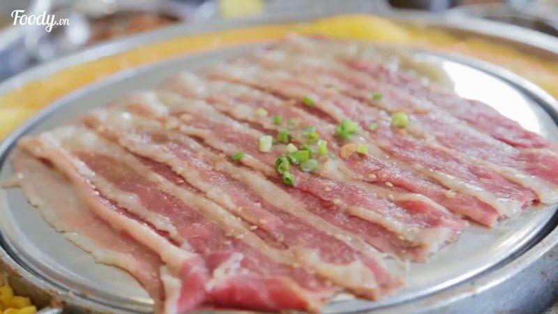 Thịt nướng Hàn Quốc ngon nhất nhì Hà Nội
