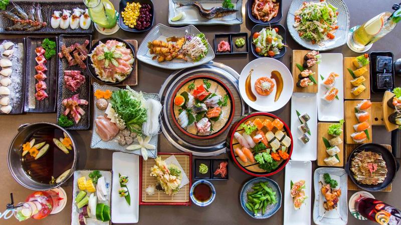 Buffet sushi cực hấp dẫn