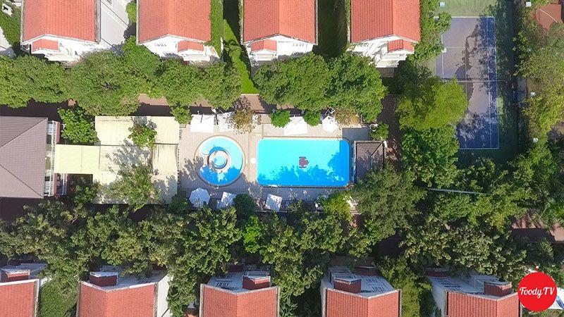 tận hưởng không gian resort trong thành phố HCM