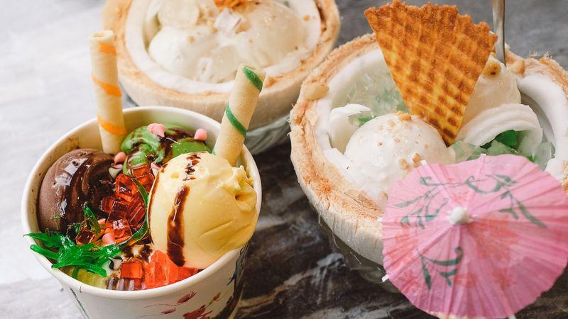 """Lạnh tê tê càng ăn càng phê ở """"VƯỜN KEM HAWAII"""" chỉ từ 15ngàn/scoop"""