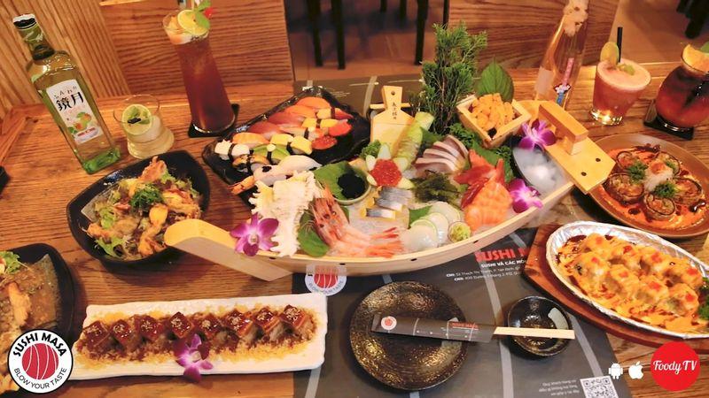 """Cực phẩm hội tụ """"200 MÓN SUSHI, SASHIMI"""" sale khủng 30% tổng bill"""