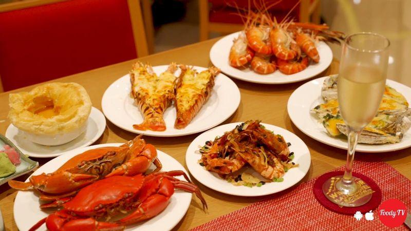 Buffet Hải Sản - Café Central An Đông